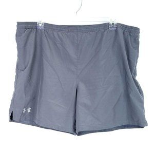 UNDER ARMOUR Gray Shorts Athletic Exercise Workout